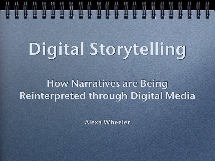 Digital Storytelling & Interactive Media