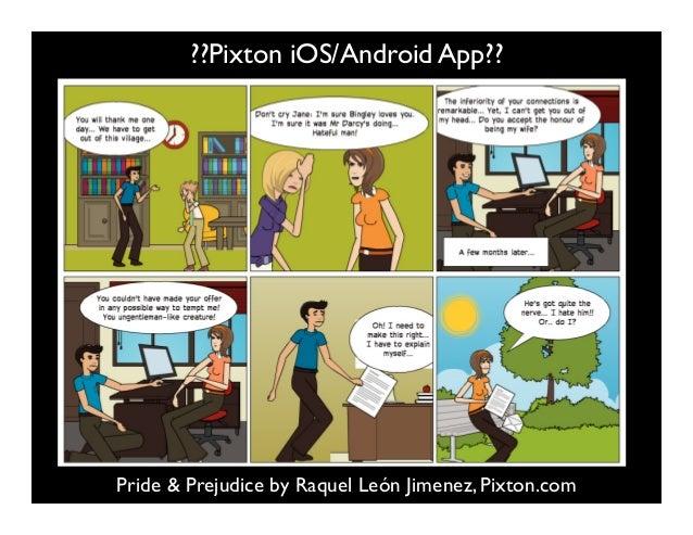 Pride & Prejudice by Raquel León Jimenez, Pixton.com ??Pixton iOS/Android App??