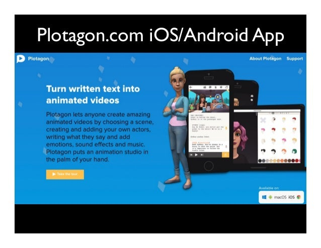 Plotagon.com iOS/Android App