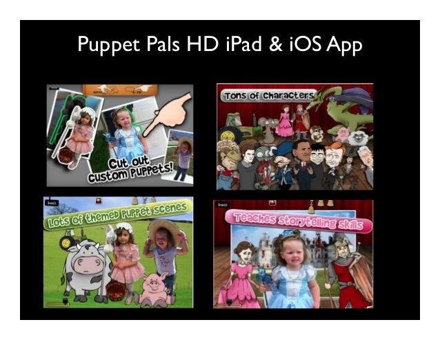 Puppet Pals HD iPad & iOS App