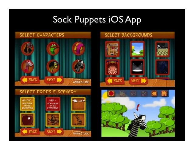 Sock Puppets iOS App
