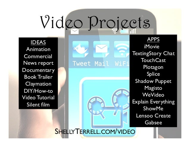 SHELLYTERRELL.COM/VIDEO IDEAS Animation Commercial News report Documentary Book Trailer Claymation DIY/How-to Video Tutori...
