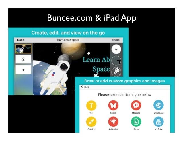 Buncee.com & iPad App