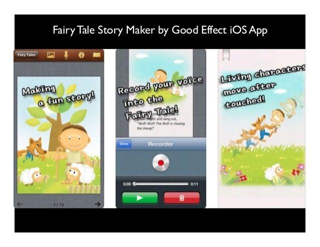 Fairy Tale Story Maker by Good Effect iOS App