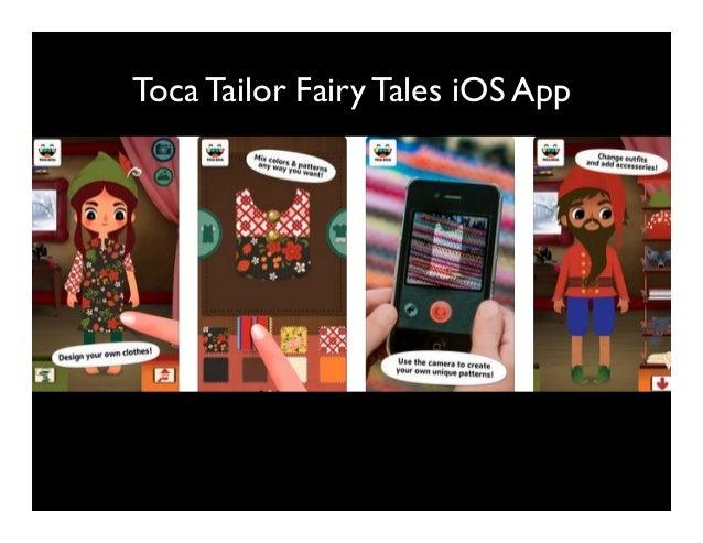 Toca Tailor Fairy Tales iOS App