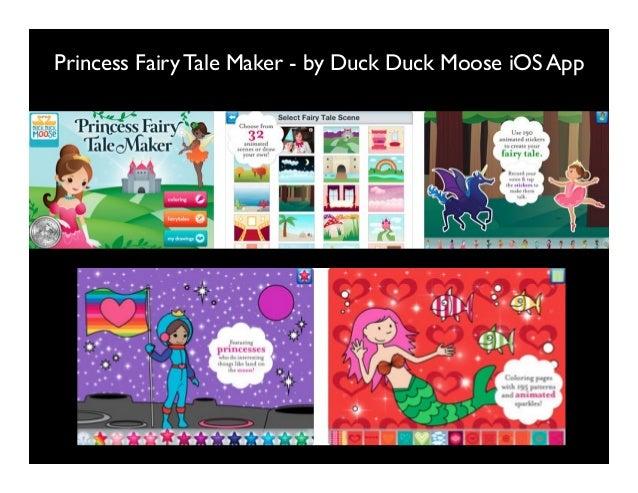 Princess Fairy Tale Maker - by Duck Duck Moose iOS App