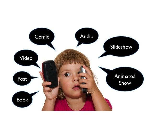Comic Video Slideshow Audio Post Book Animated Show