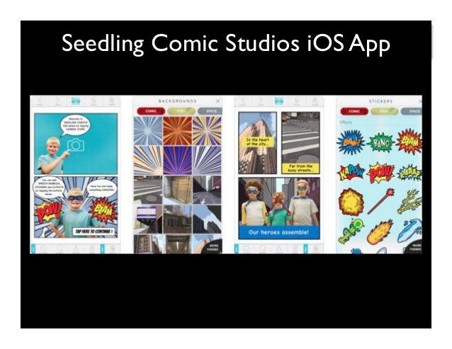 Seedling Comic Studios iOS App