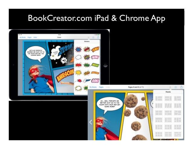 BookCreator.com iPad & Chrome App