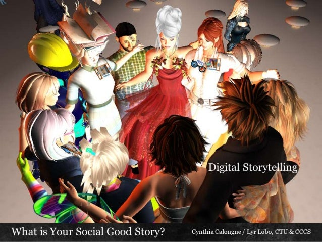 Digital storytelling your social good story with notes