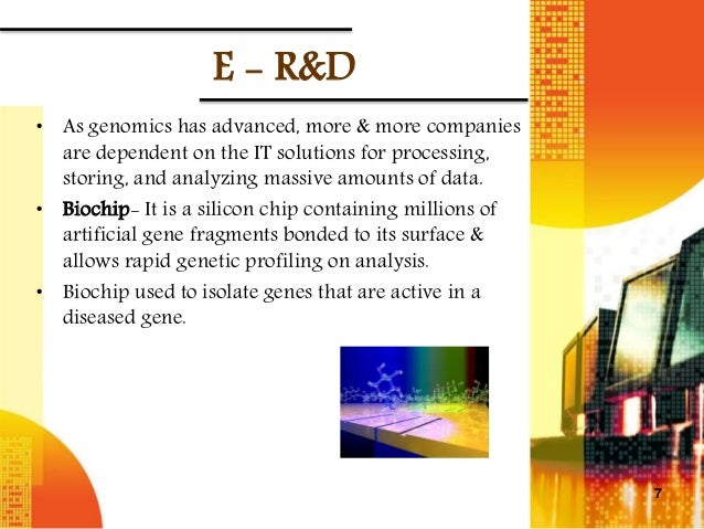 an introduction to the dna chips and the pharmaceutical industry Read chapter 13 biotechnology case study: the pharmaceutical industry in this country alone spends about $10 billion on r&d per year computer chips.