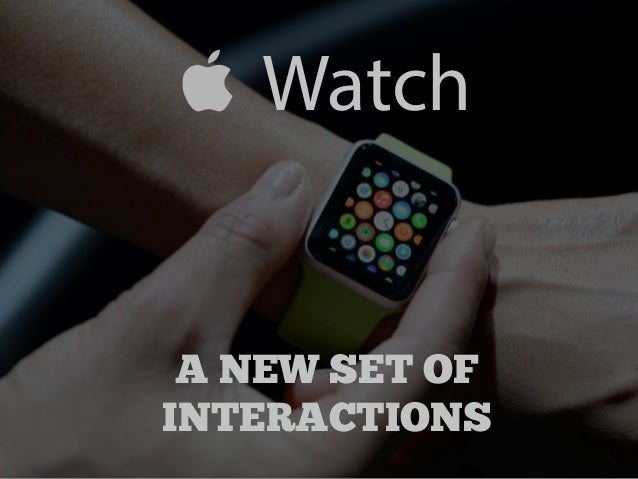 Watch  A NEW SET OF  INTERACTIONS