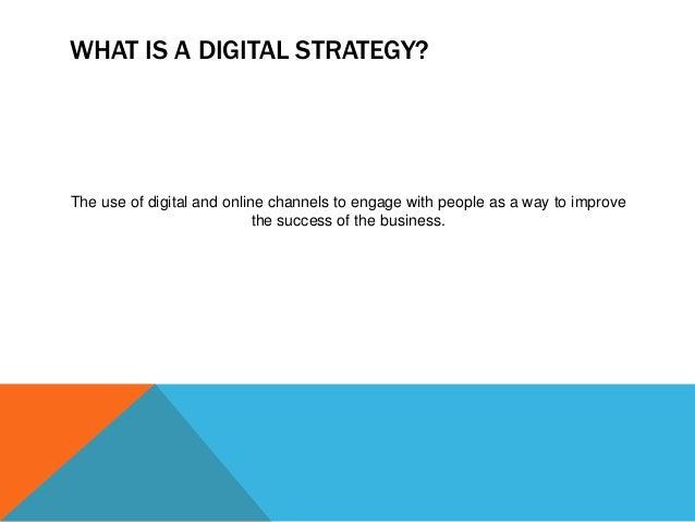 how to create a digital strategy