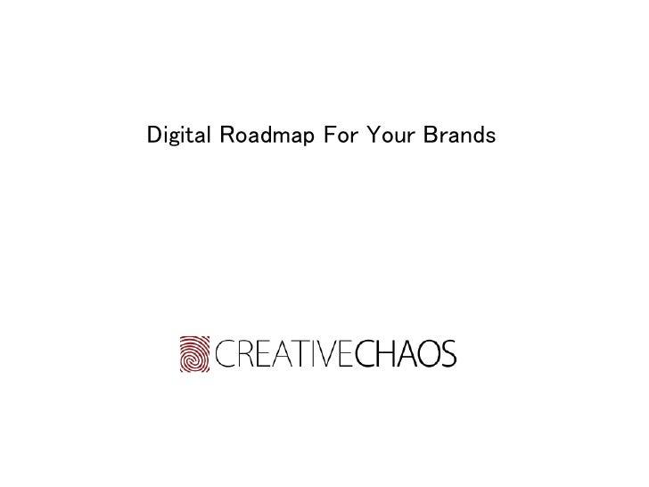Digital Roadmap For Your Brands