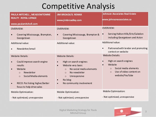 Digital strategy for paula mitchell