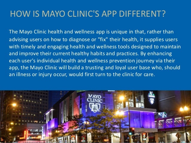 mayo clinic health and wellness mobile app