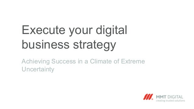 Executing the Plan-The Most Important Part