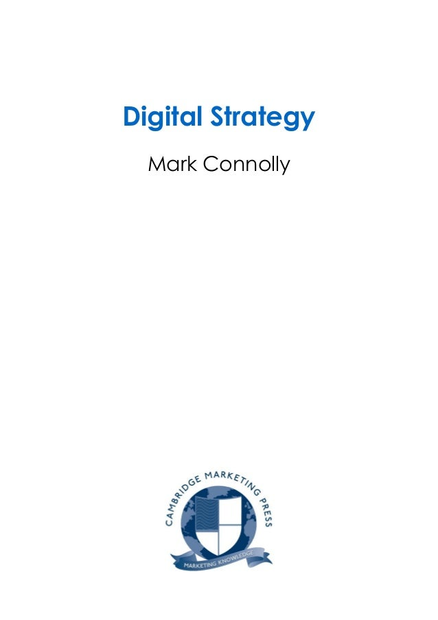 Diploma guide digital strategy sample chapter digital strategy mark connolly fandeluxe Gallery
