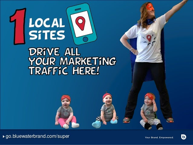 6 Digital Marketing Superpowers for Your Franchise - A Franchise Marketing Webcast from Bluewater Slide 3