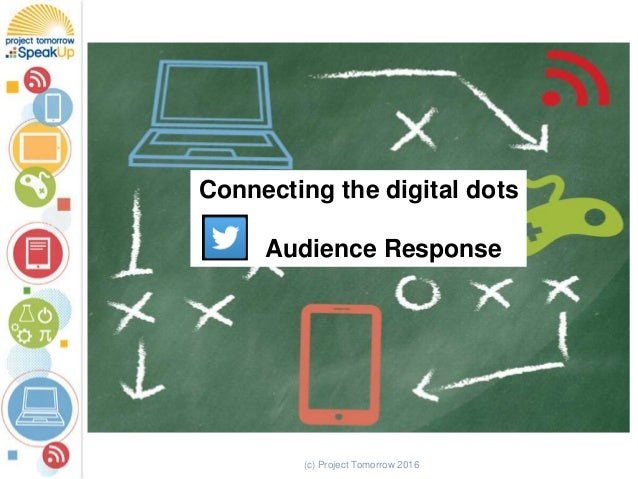 (c) Project Tomorrow 2016 Connecting the digital dots Audience Response
