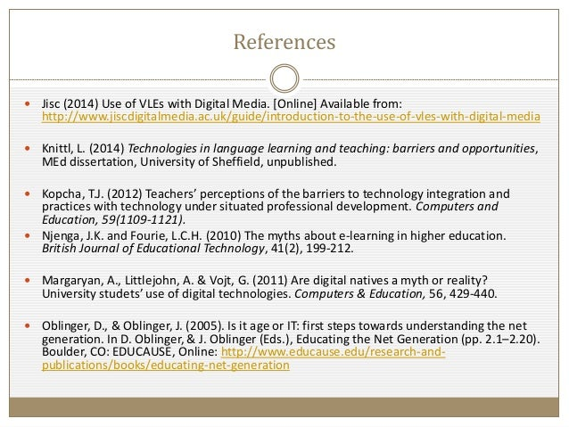 development dissertation professional technology Evaluating the impact of continuing professional development: the professional  dissertation in lifelong learning.