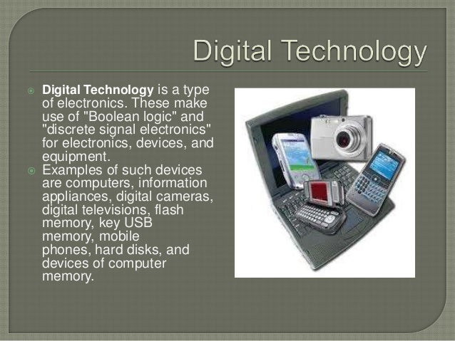it 1 digital devices A digital device is an electronic device which uses discrete, numerable data and processes for all its operations the alternative type of device is analog, which uses continuous data and processes for any operations.