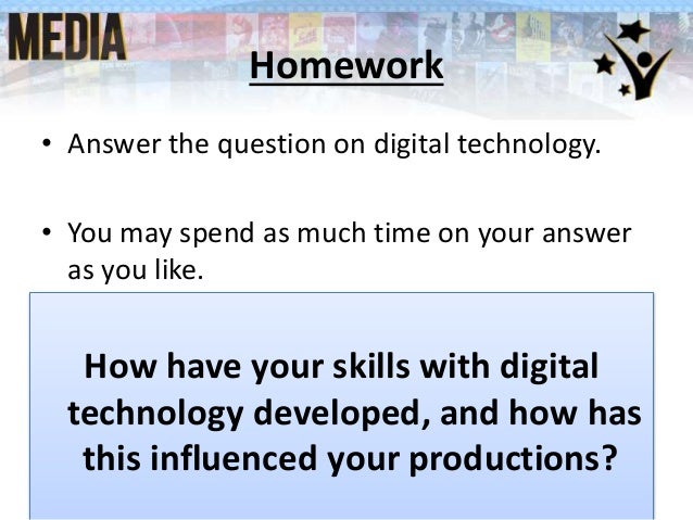 describe how you developed your skills in the use of digital technology essay The inspectorate wishes to thank the following for the use of photographs:  clonakilty  digital projectors were found in post-primary schools  adoption  of the technology and in capitalising on its potential to develop our economy for.
