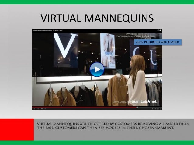 VIRTUAL MANNEQUINS CLICK PICTURE TO WATCH VIDEO