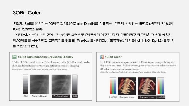 Display color와 Digital texture format의 이해