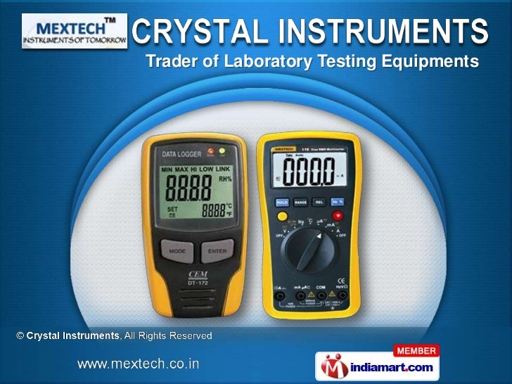 Trader of Laboratory Testing Equipments
