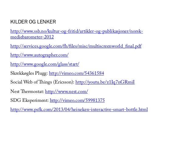 Digital hverdag, 19.4.2013