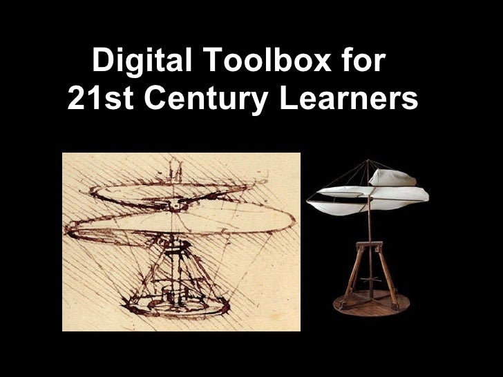 Digital Toolbox for  21st Century Learners