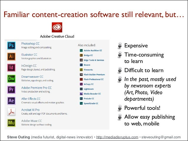 Digital Tools for Journalism and Advertising - 2014 Slide 2