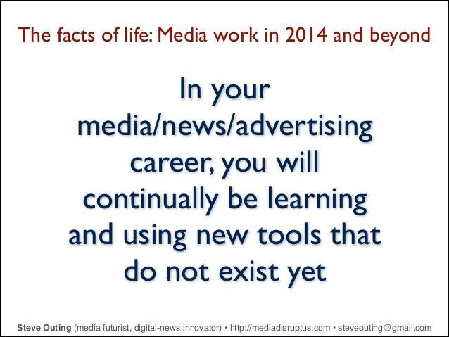 Digital Tools for Journalism and Advertising - 2014 Slide 3
