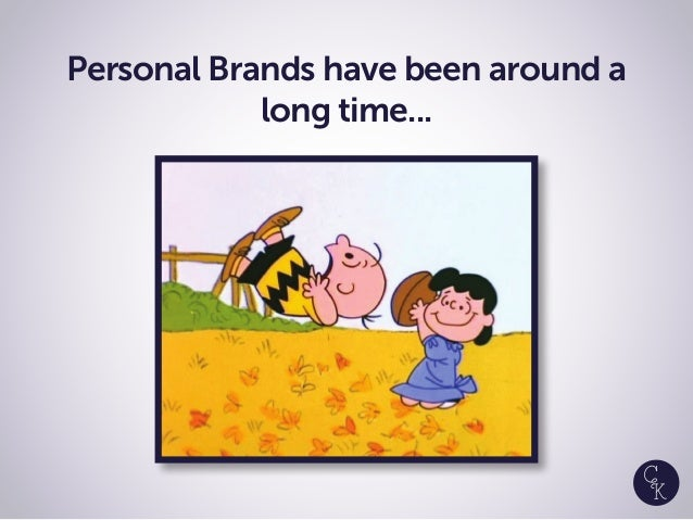 Personal Brands have been around a long time...