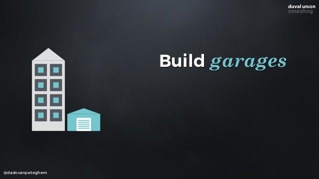 @dadovanpeteghem Build garages Participate in garages Buy garages