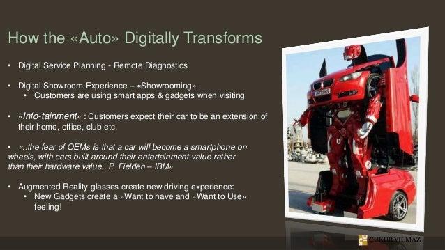 How the «Auto» Digitally Transforms • Digital Service Planning - Remote Diagnostics • Digital Showroom Experience – «Showr...