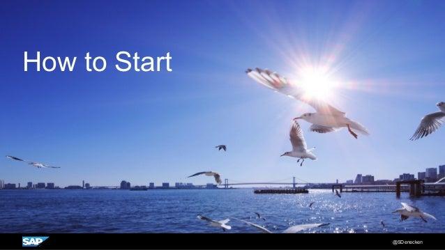 How to Start @SDenecken