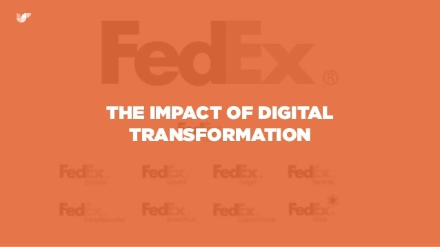 THE IMPACT OF DIGITAL TRANSFORMATION