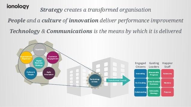 Digital transformation in local governemnt Slide 2