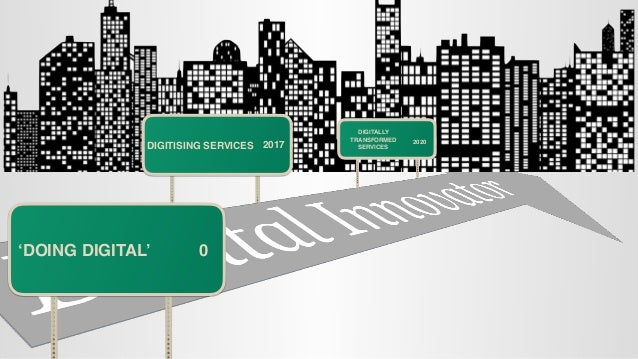 Digital transformation in local governemnt Slide 3