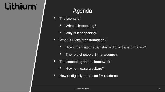 Understanding Digital transformation  Slide 2