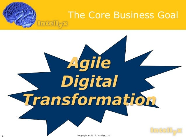 Digital transformation: New purpose for enterprise architecture Slide 3
