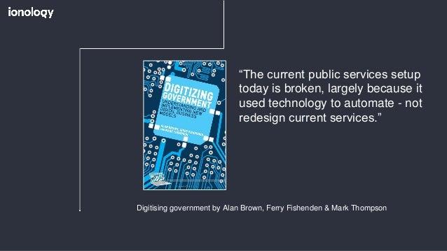 Digital Transformation of citizen engagement Slide 3