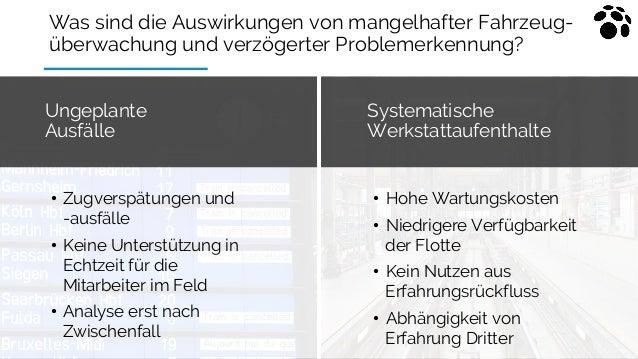 Was sind die Auswirkungen von mangelhafter Fahrzeug- überwachung und verzögerter Problemerkennung? Systematische Werkstatt...