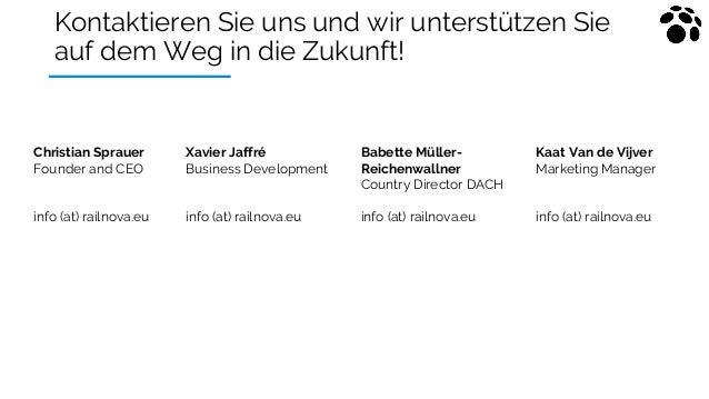 Kontaktieren Sie uns und wir unterstützen Sie auf dem Weg in die Zukunft! Xavier Jaffré Business Development info (at) rai...