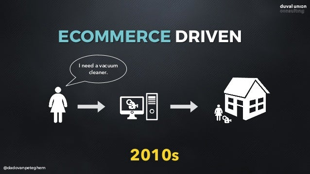 @dadovanpeteghem I need a vacuum cleaner. 2010s ECOMMERCE DRIVEN