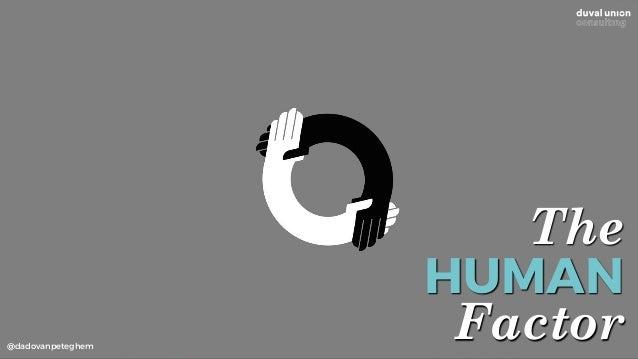 @dadovanpeteghem The HUMAN Factor