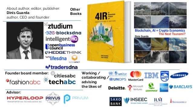 Digital Transformation Strategy - 4IR AI Blockchain Fintech by Dinis Guarda Slide 2