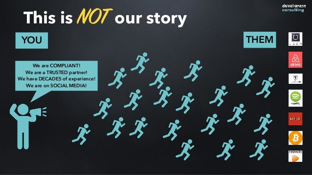 This is NOT our story YOU THEM We are COMPLIANT! We are a TRUSTED partner! We have DECADES of experience! We are on SOCIAL...